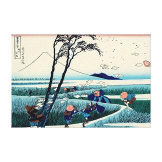 Ejiri in Suruga Province Canvas Prints