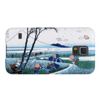 Ejiri in the Suruga province Katsushika Hokusai Galaxy S5 Cover