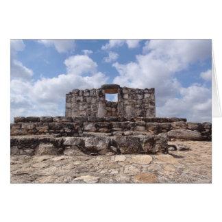 Ek Balam, Yucatan, Mexico Card