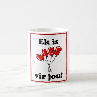 Ek is lief vir jou coffee mug