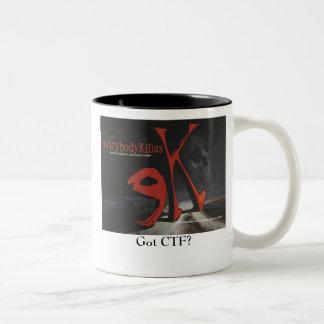 eK mug, Got CTF? Two-Tone Coffee Mug