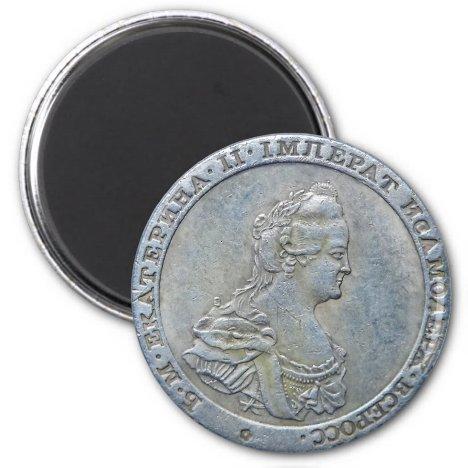 Ekaterine II / Queen Catherine II, Russia (Magnet)