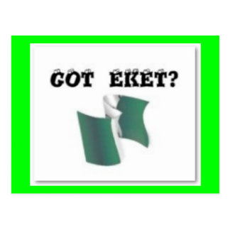 Eket Map Nigeria T-Shirt and Etc Post Cards
