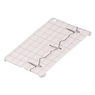 EKG heartbeat on graph paper, PhD (doctor) pulse iPad Mini Cover