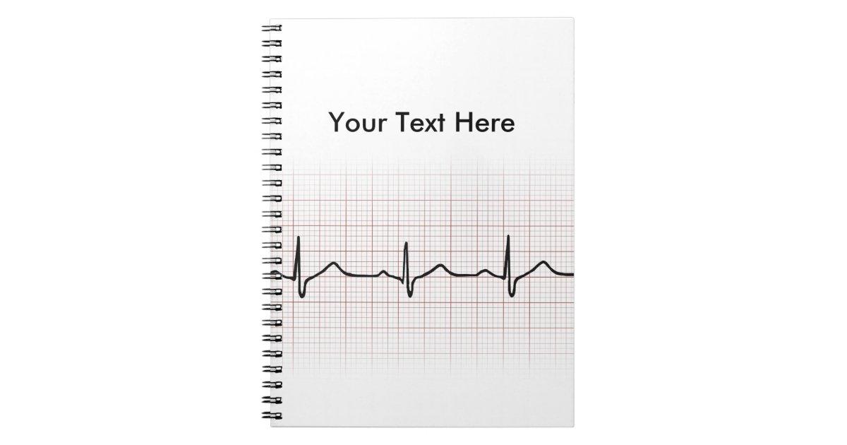 ekg heartbeat on graph paper  phd  doctor  pulse spiral