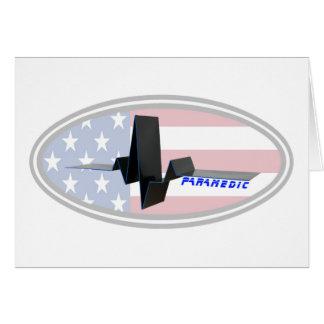 EKG Paramedic USA Card