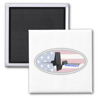 EKG Paramedic USA Refrigerator Magnets