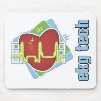EKG Tech Mouse Pad