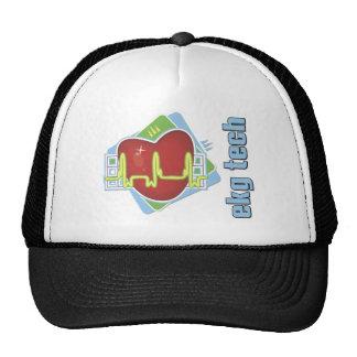 EKG Tech Trucker Hat