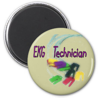 EKG Technician Gifts 2 Inch Round Magnet