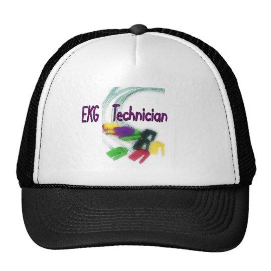 EKG Technician Gifts Trucker Hat