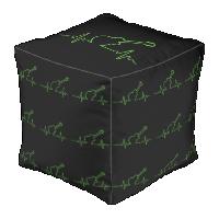 EKGuitar Cube Pouf