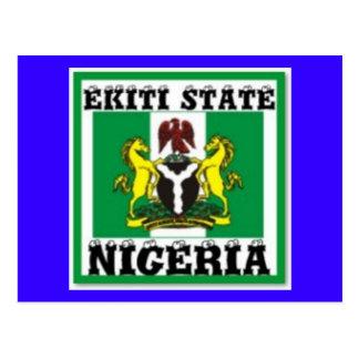 EKITI STATE.(NIGERIA) T-Shirt And etc Postcards