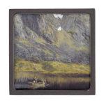 Ekko (eco en el fiordo) caja de recuerdo de calidad
