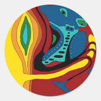 ekos crimped Sticker