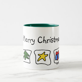 Ekos Merry Christmas Mug