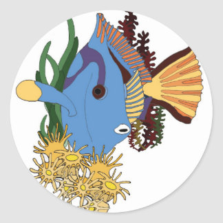 ekos Surgeonfish Sticker