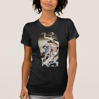 el 松に鶴, 北斎 Cranes en el árbol de pino, Hokusai, Camisetas