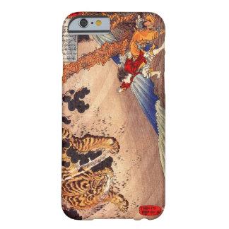 el 虎と闘う少年, muchacho lucha el tigre, Kuniyoshi, Funda De iPhone 6 Barely There