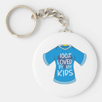 El 100% amado por mis niños llavero