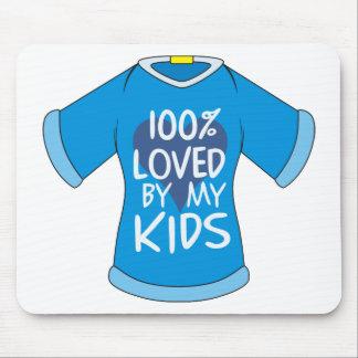 El 100% amado por mis niños tapete de ratón