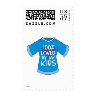 El 100% amado por mis niños timbres postales