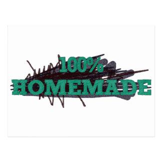 El 100% hecho en casa postales