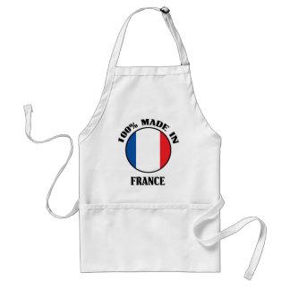 El 100% hizo en Francia Delantal