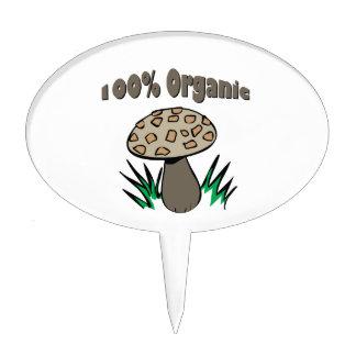 El 100% orgánico figura de tarta