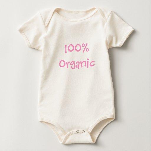 El 100% orgánico body para bebé