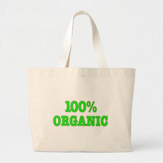 El 100 orgánico bolsas