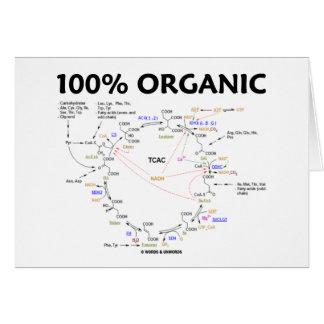 El 100% orgánico (ciclo de ácido cítrico - ciclo d tarjetón