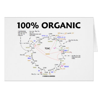 El 100% orgánico (ciclo de ácido cítrico - ciclo tarjeta de felicitación