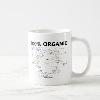 El 100% orgánico (ciclo de ácido cítrico - ciclo taza básica blanca