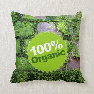 El 100% orgánico cojín