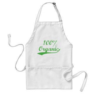 El 100% orgánico delantal