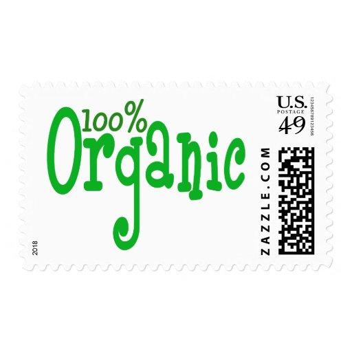 el 100% orgánico franqueo