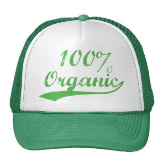 El 100% orgánico gorro
