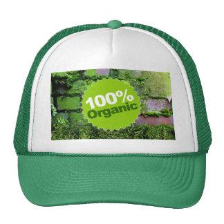 El 100 orgánico gorro