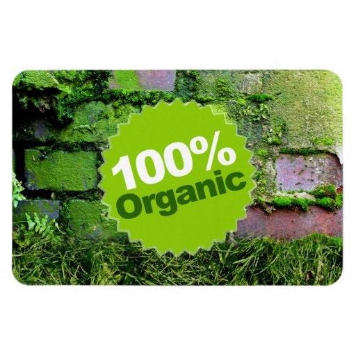 El 100% orgánico imán de vinilo
