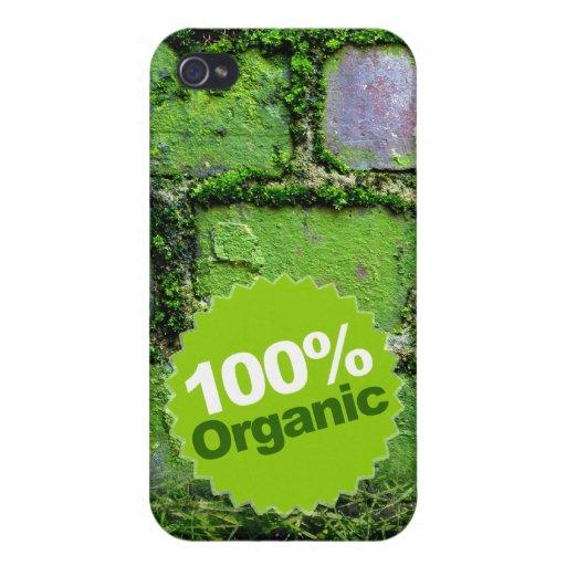 El 100% orgánico iPhone 4 carcasas