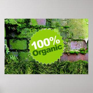 El 100% orgánico posters