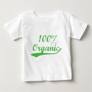 El 100% orgánico playera de bebé