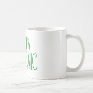 el 100% orgánico taza clásica