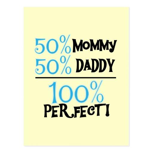 El 100% perfecto - camisetas y regalos azules postal