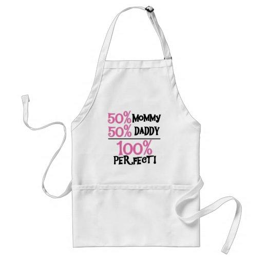 El 100% perfecto - camisetas y regalos rosados delantal