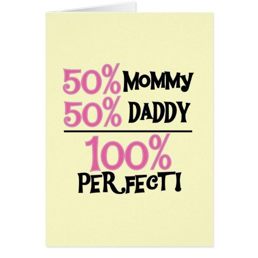 El 100% perfecto - camisetas y regalos rosados felicitación