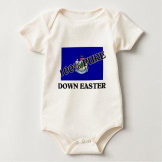 El 100 por ciento abajo Pascua Trajes De Bebé