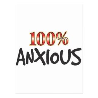 El 100 por ciento ansioso postal