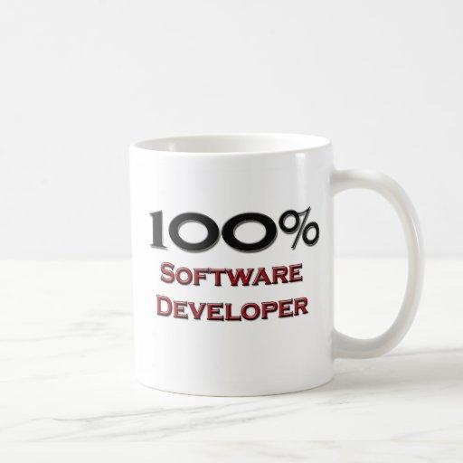 El 100 por ciento de analista de programas informá tazas de café